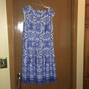 Sleeveless party dress